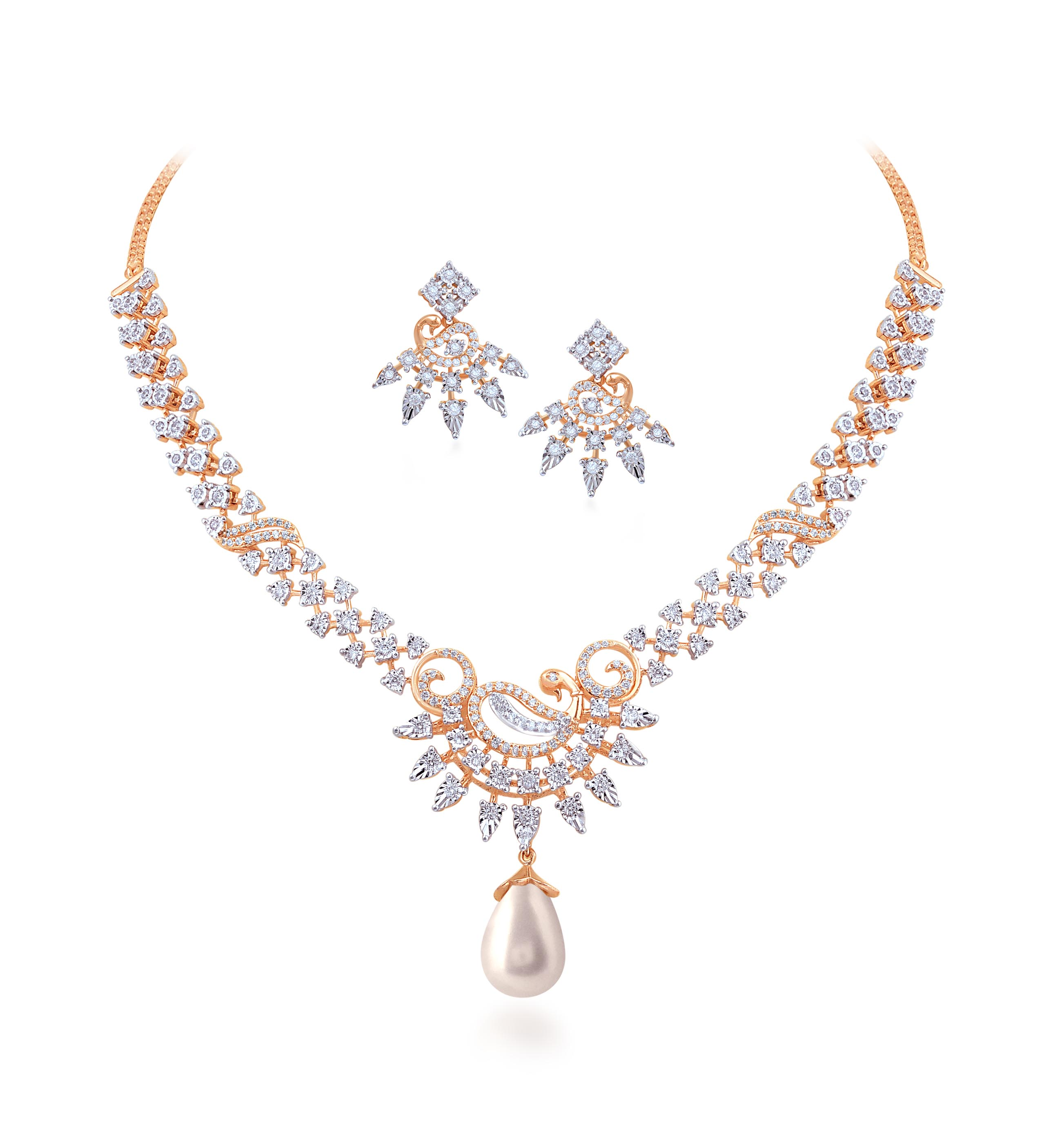 Mesmeric Necklace Set