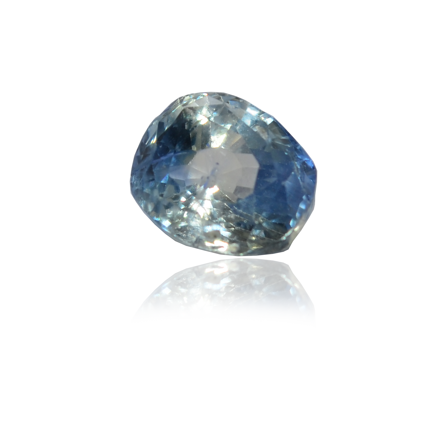4.00 CARAT, OVAL MIXED CUT NATURAL BLUE SAPPHIRE