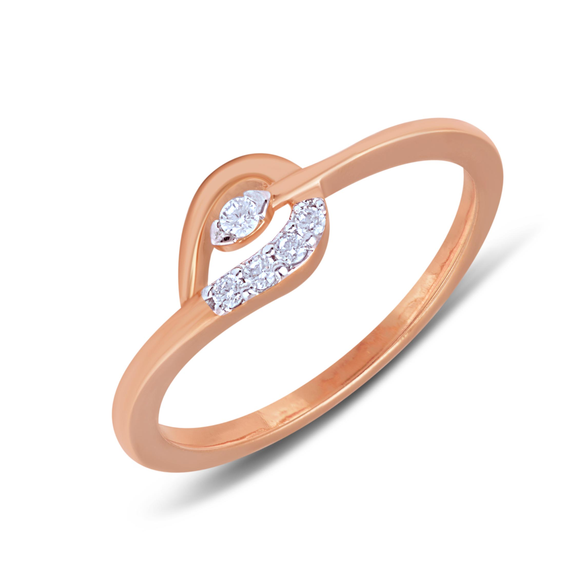 Naturale Diamond Studded Ring