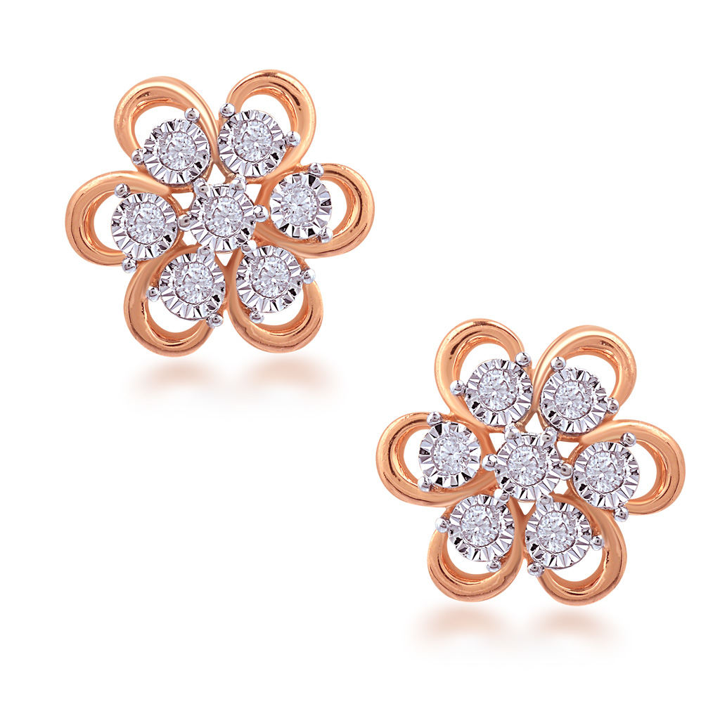 Colossal Classic Diamond Earrings