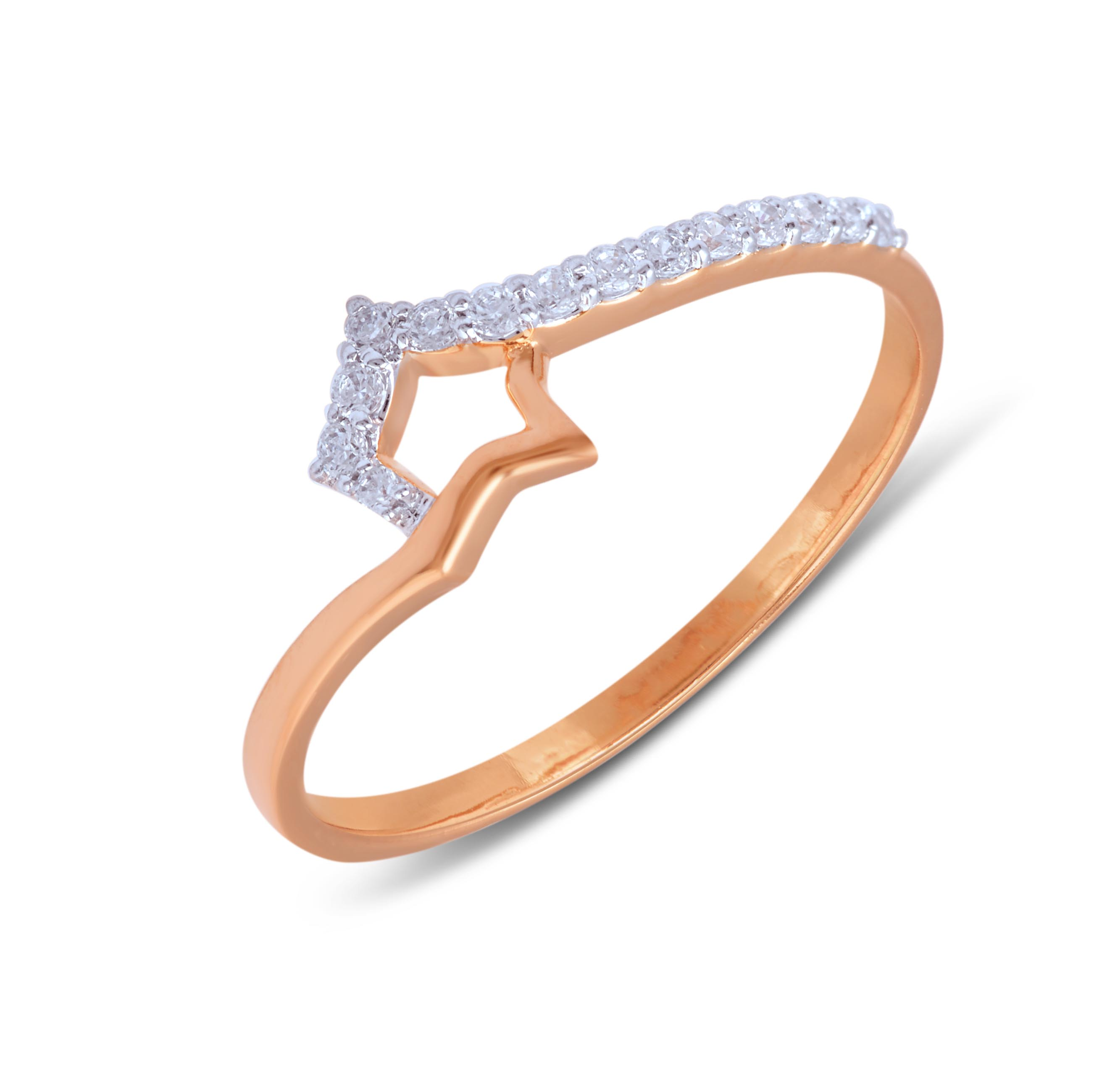 Sumptuous Diamond Finger Ring