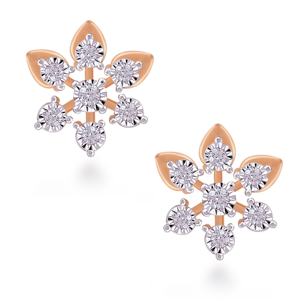 Glorious Glare Diamond Earrings