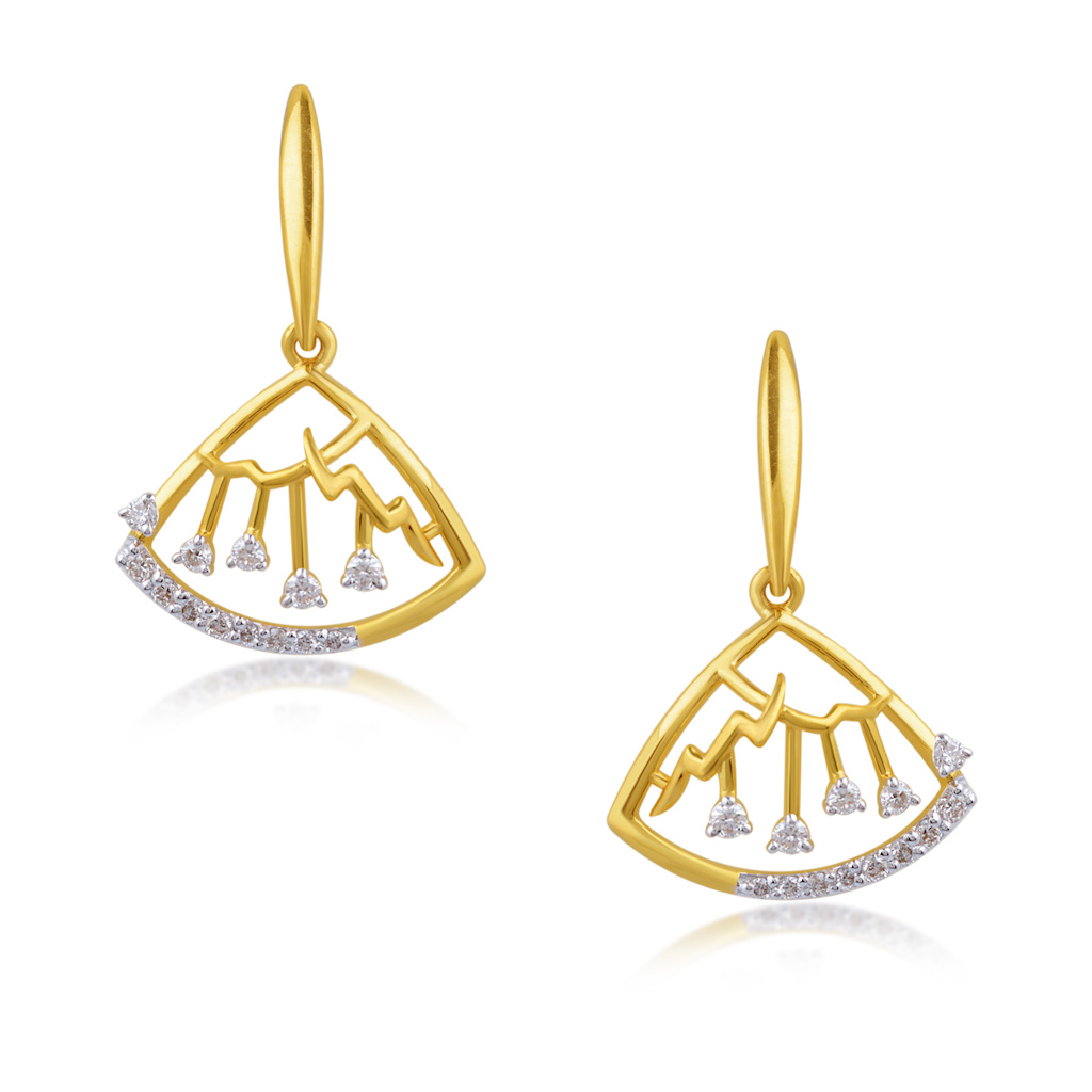 Captivating Connection Diamond Earrings