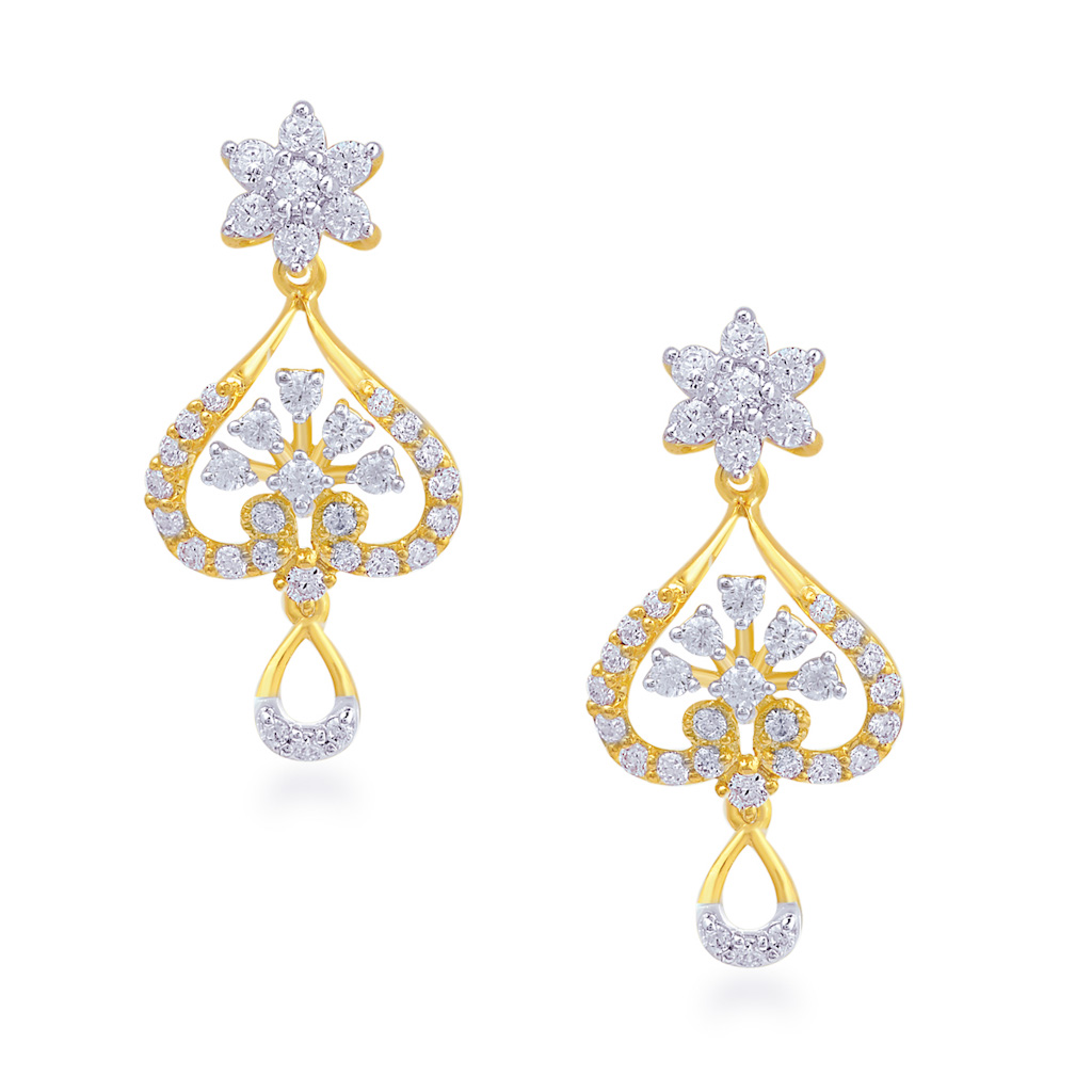 Dainty Dawn Diamond Earrings