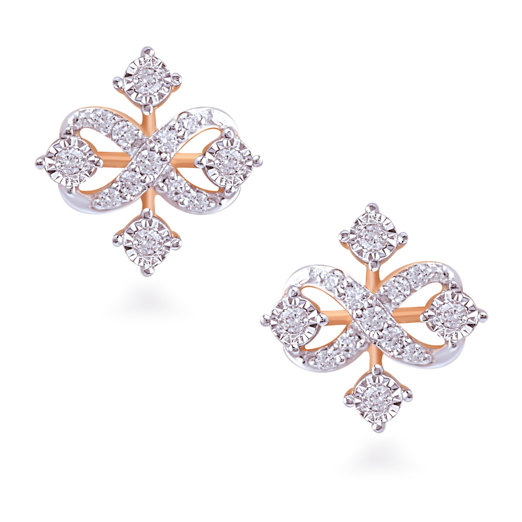 Effervescent Diamond Earrings