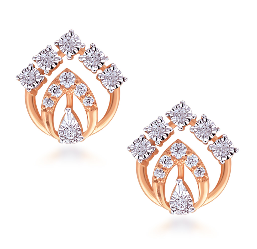 Iconic Lady Diamond Earrings