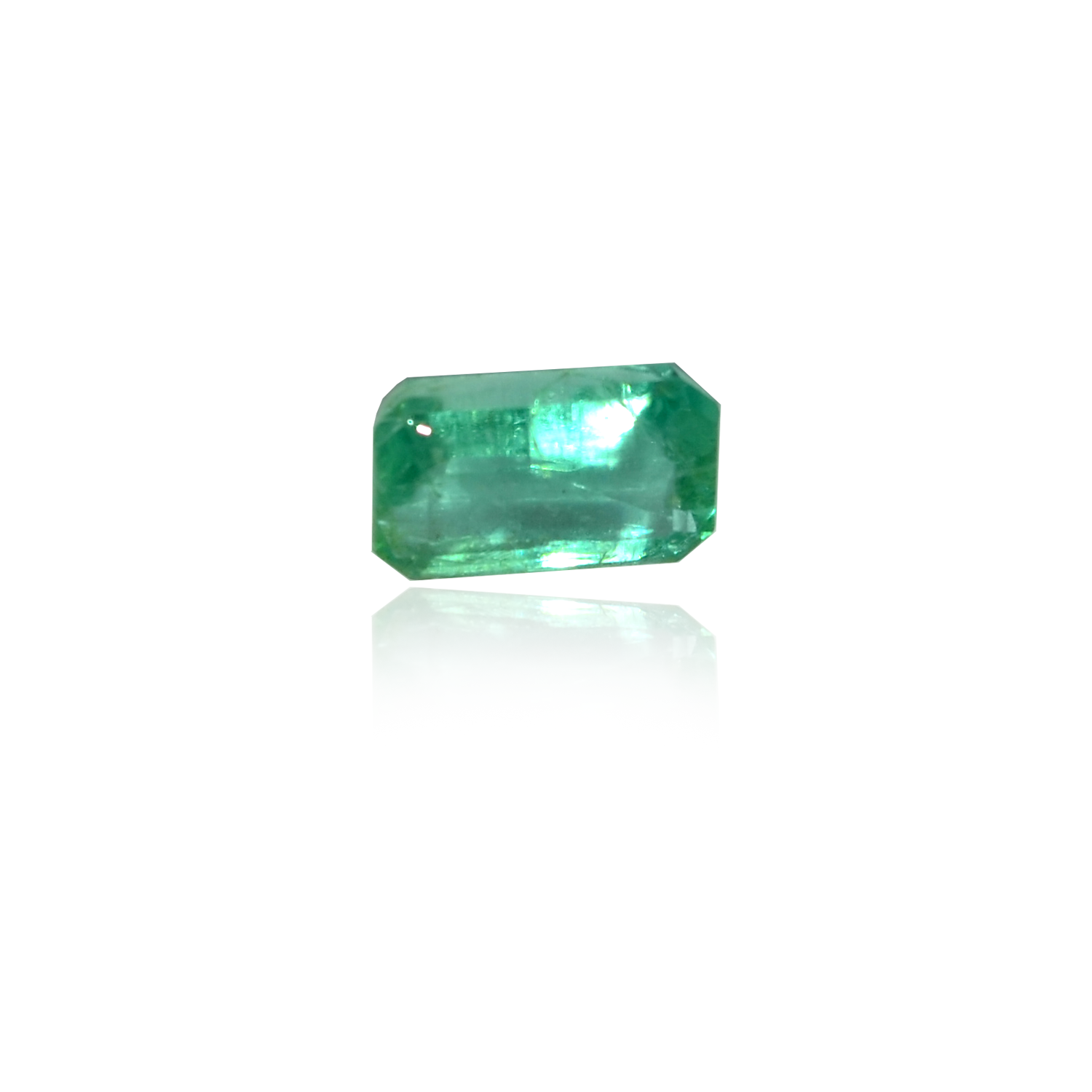4.85 CARAT, EMERALD MIXED CUT NATURAL EMERALD
