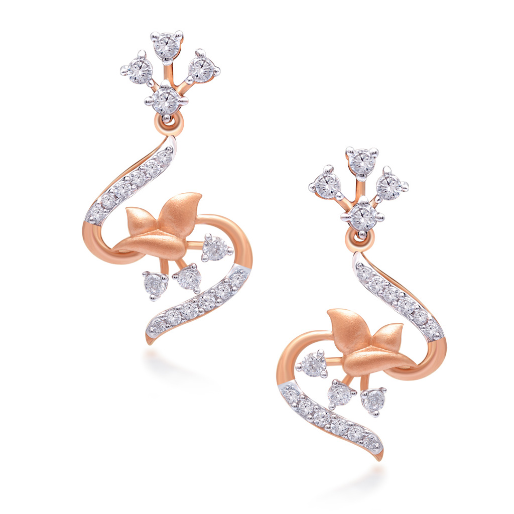 Reflections Diamond Earrings