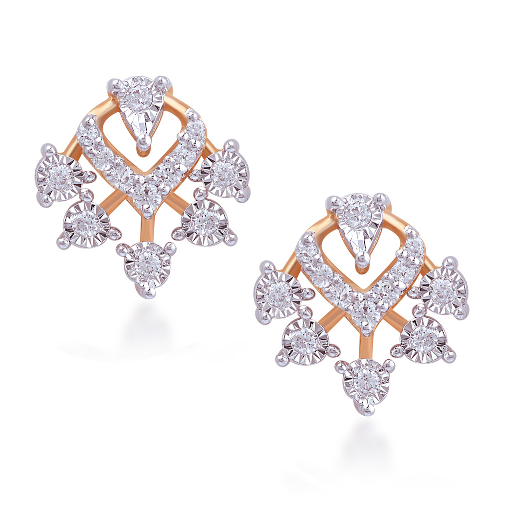 Miss Sunshine Diamond Earrings