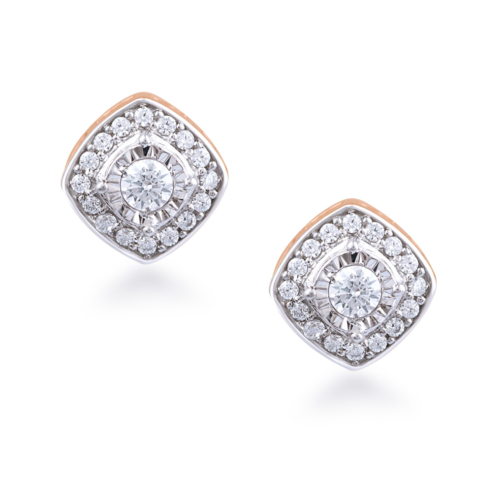 Divine Touch Diamond Earrings
