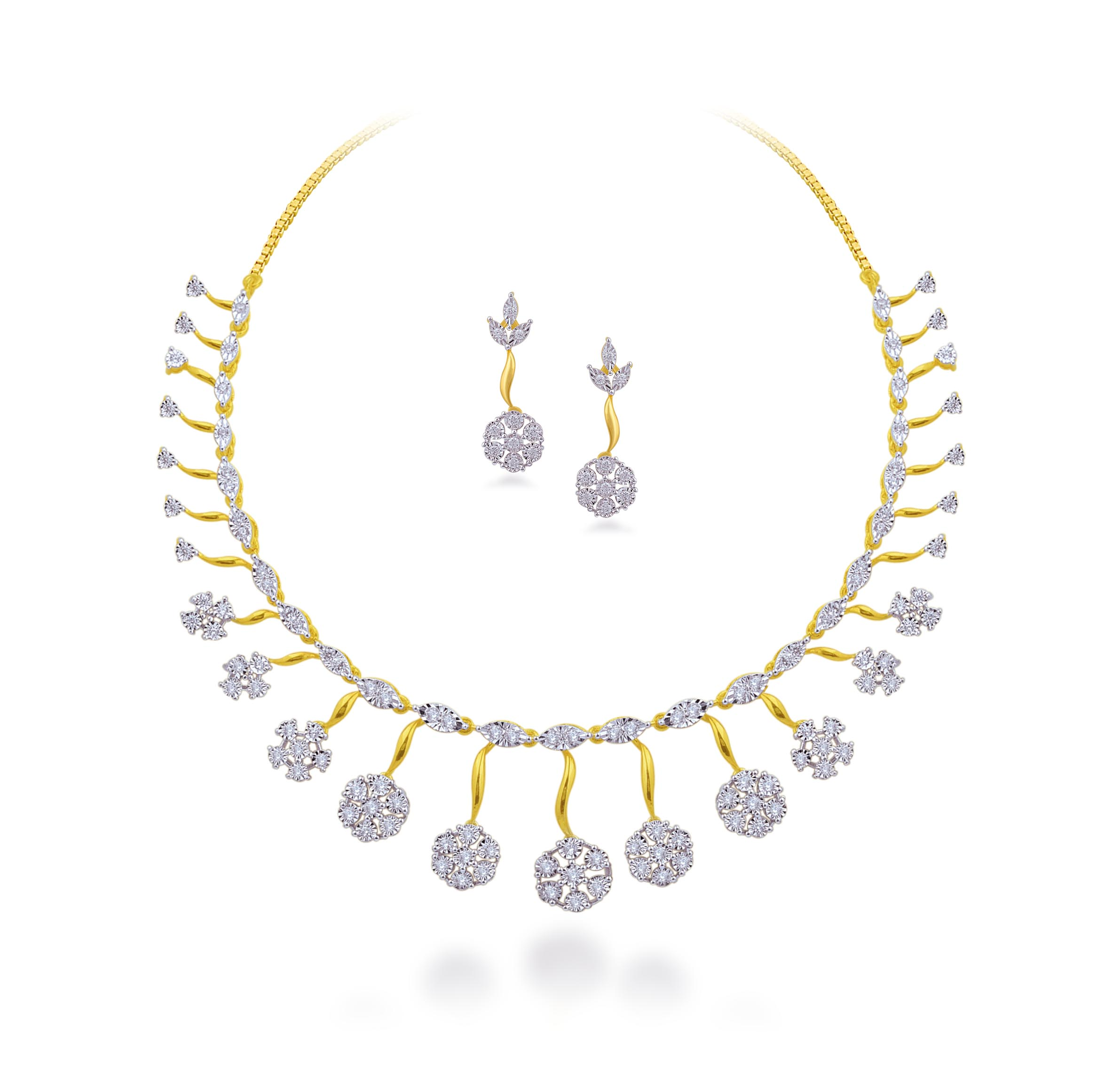 Sculptured Necklace Set