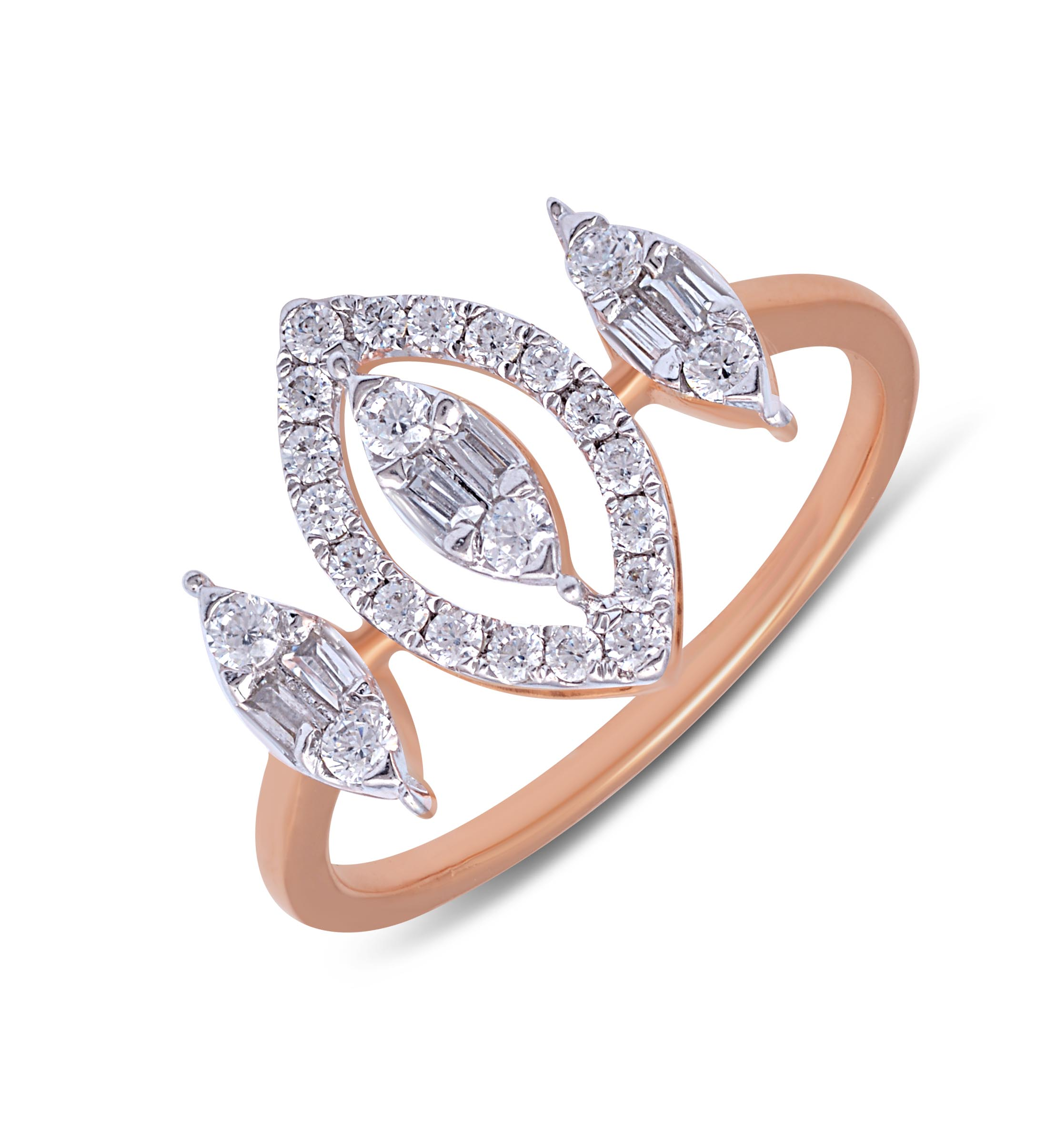 Glamor Diamond Finger Ring