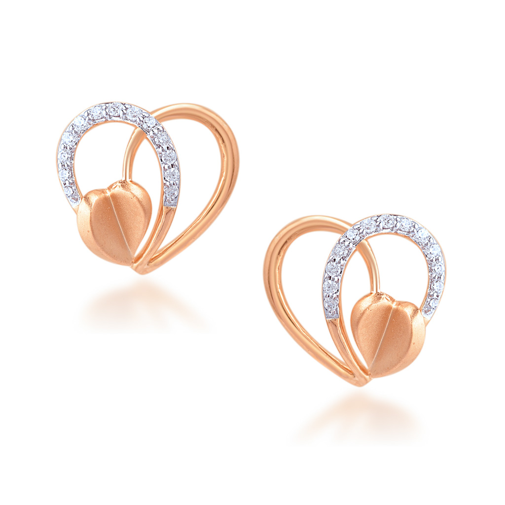Alluring Couple Diamond Earrings