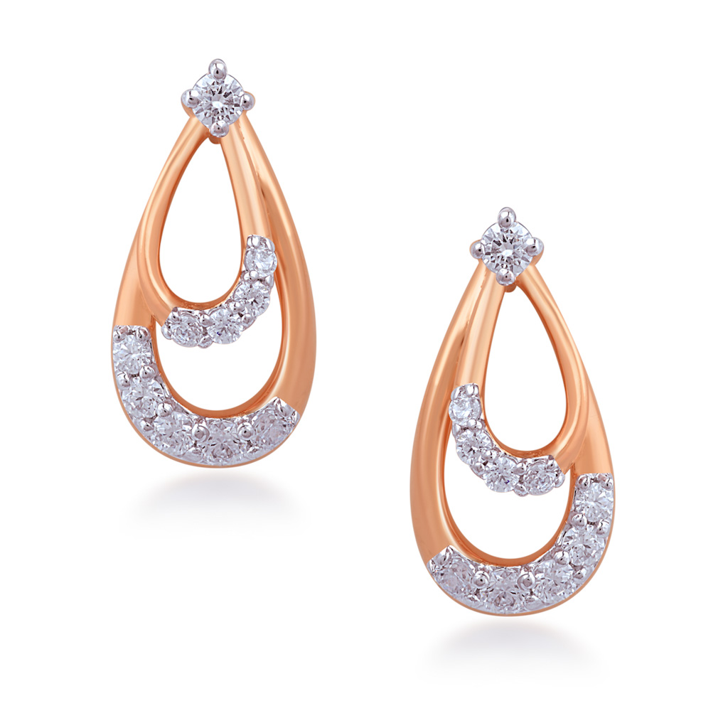 Art Of Grace Diamond Earrings