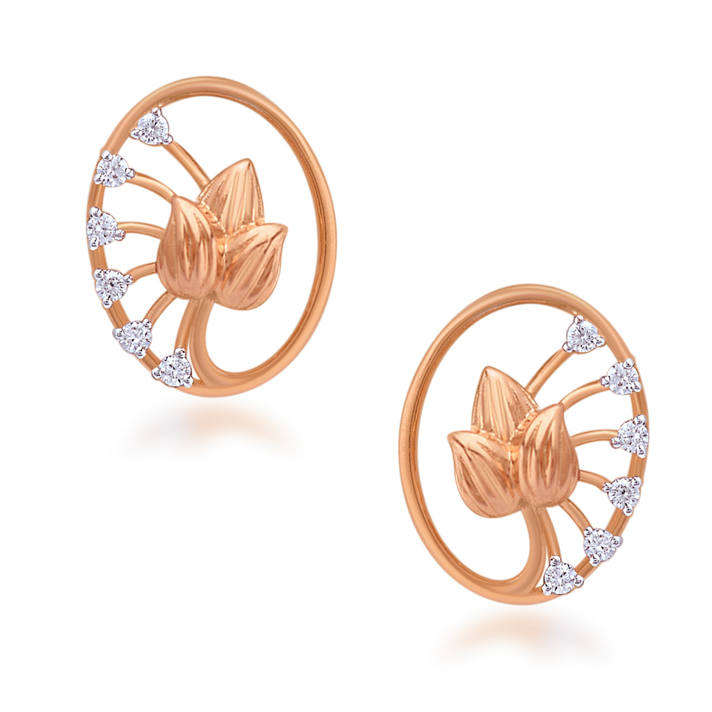 Enticing Art Diamond Earrings