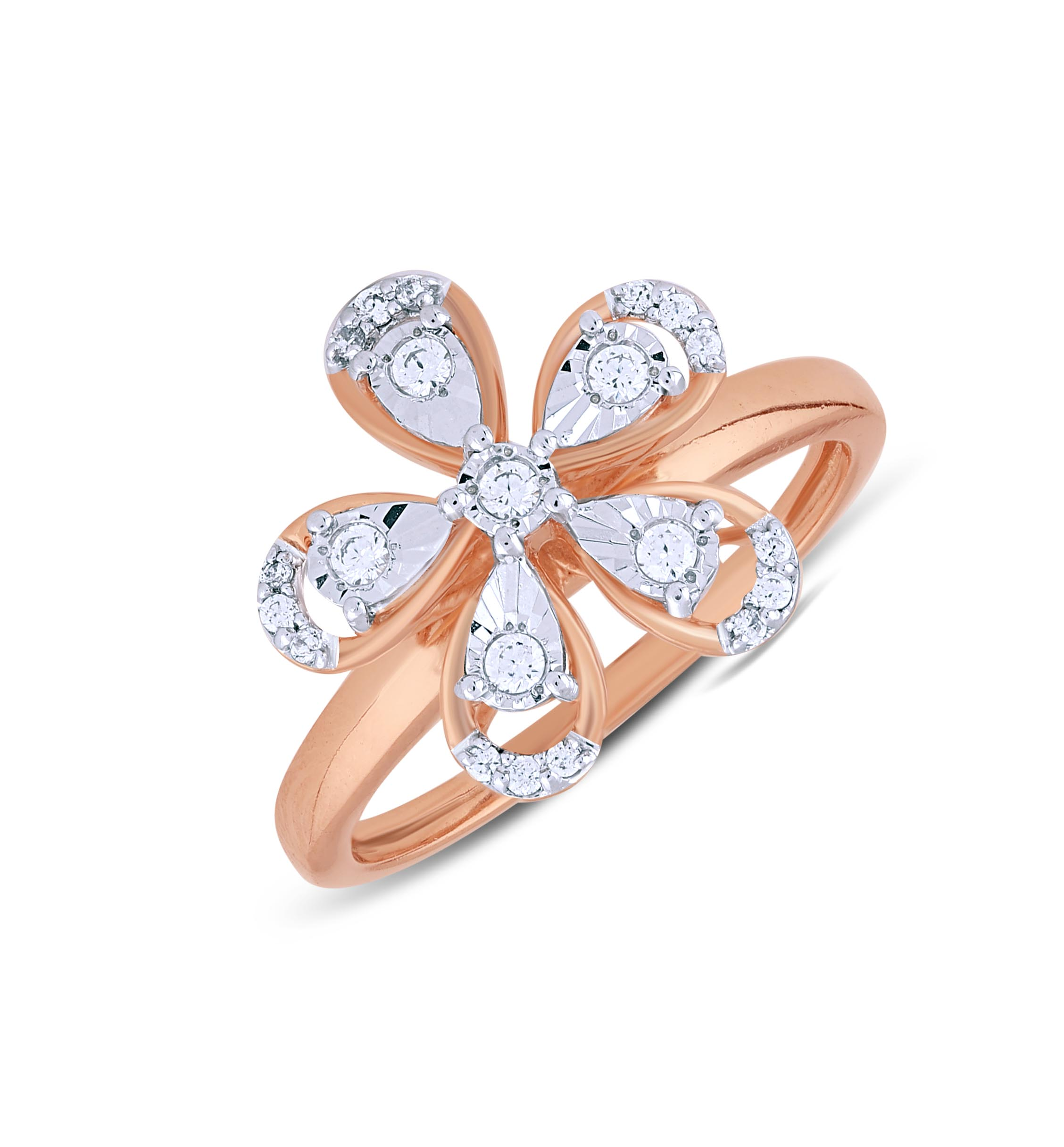 Tranquil Diamond Ladies Ring