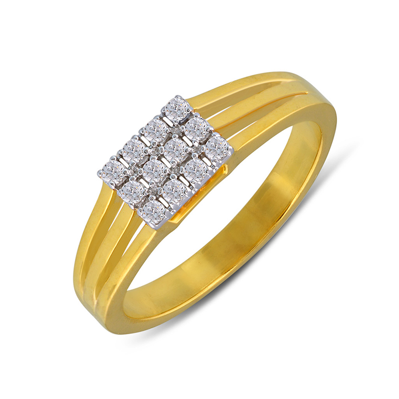 Hearty Bond Diamond Ring