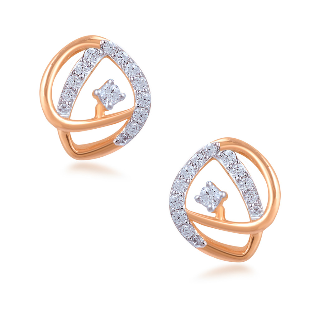 Pristine Diamond Earrings