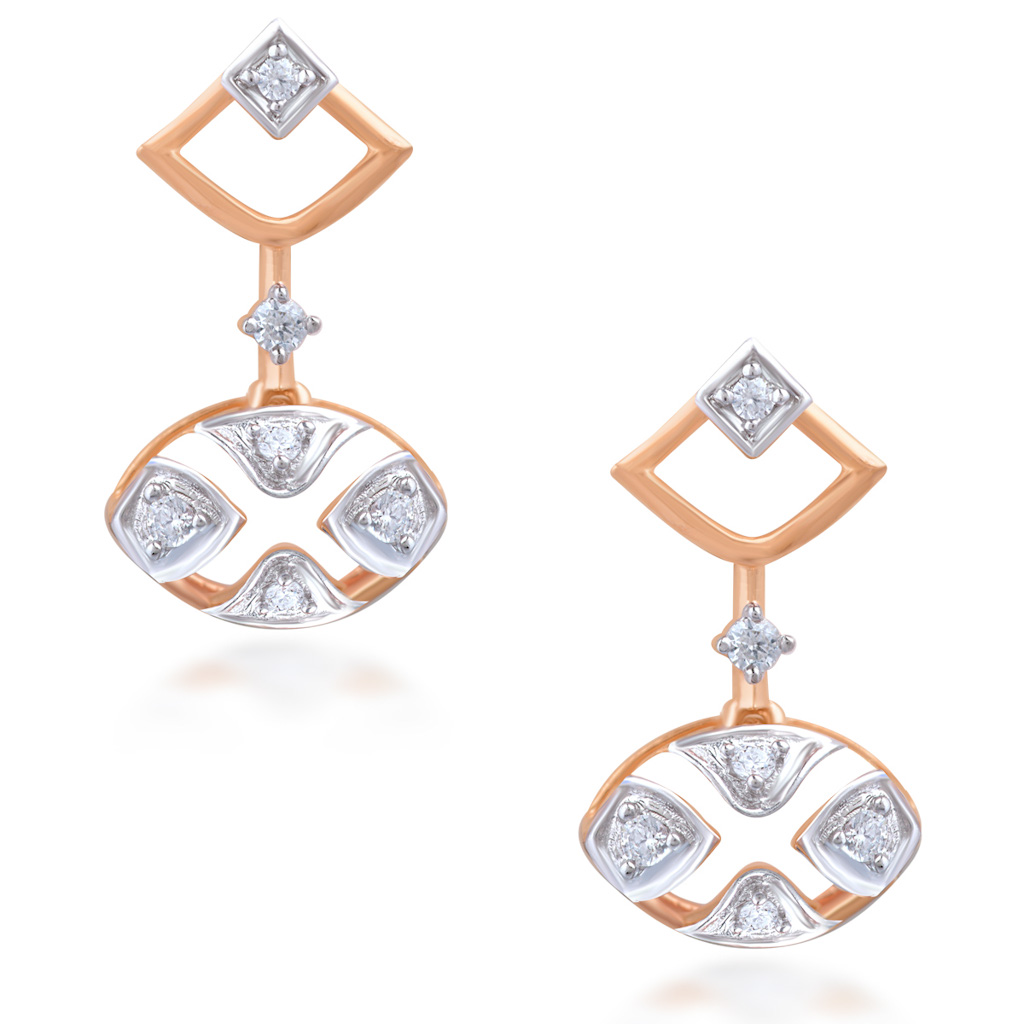 Splendorous Diamond Earrings