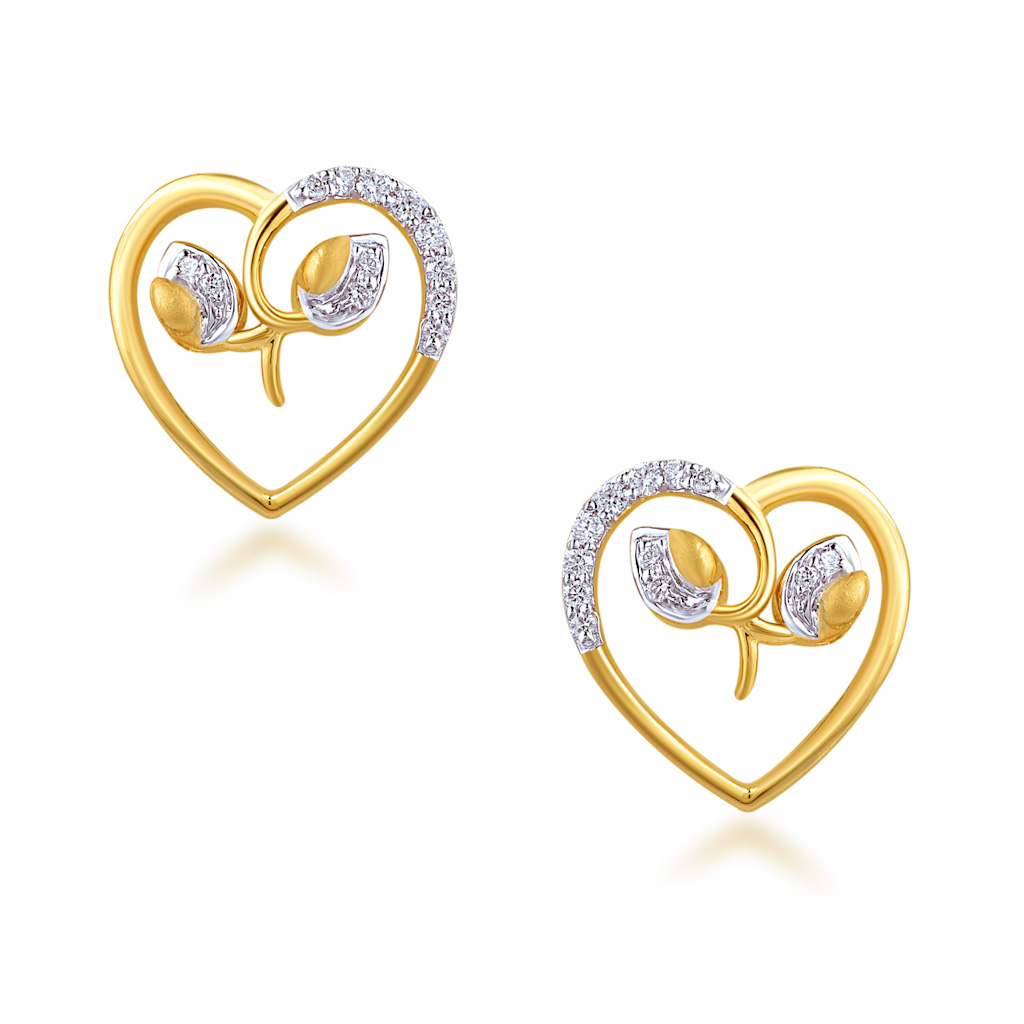 Belongingness Diamond Earrings
