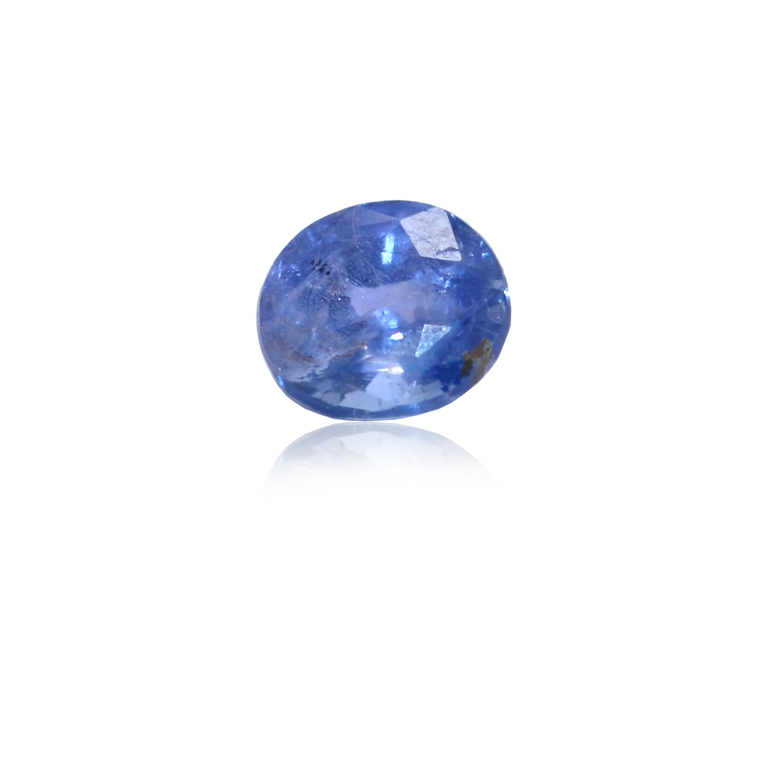 2.95 CARAT, OVAL MIXED CUT NATURAL BLUE SAPPHIRE