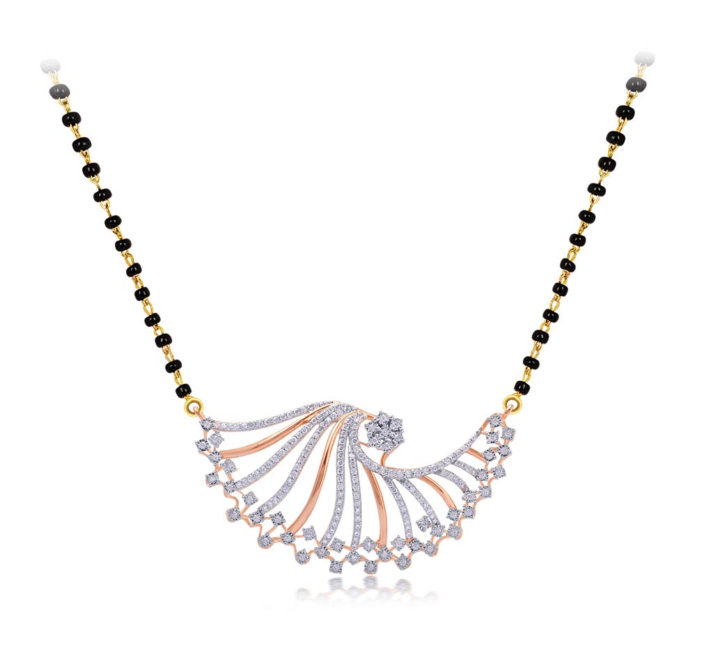 Bedazzling Mangalsutra Pendant