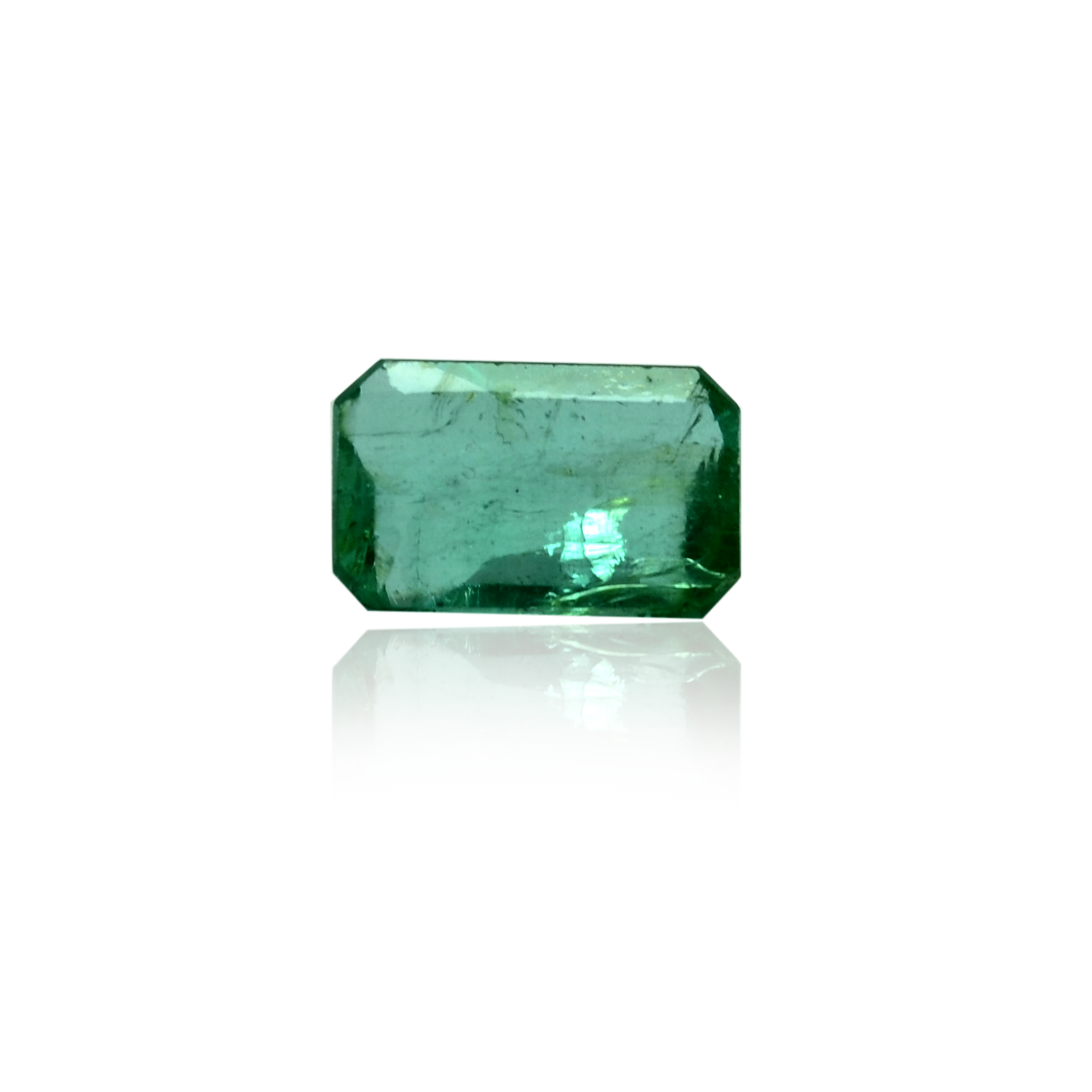 5.40 CARAT, EMERALD MIXED CUT NATURAL EMERALD