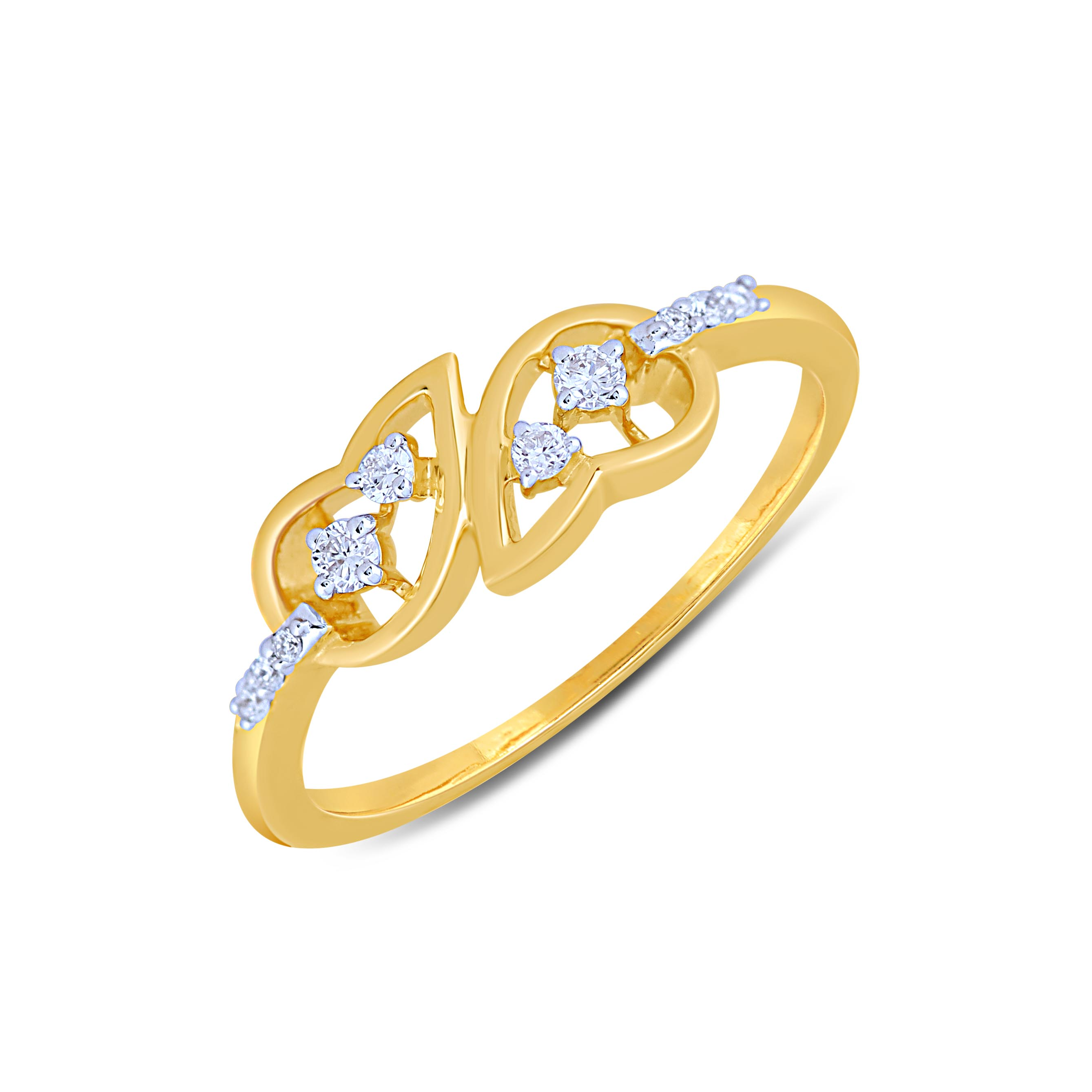 Angelic Diamond Ladies Ring